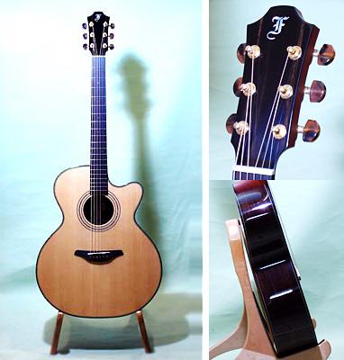 チェコのFurchのギターの写真