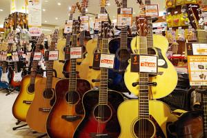 入門者向けのギターの写真