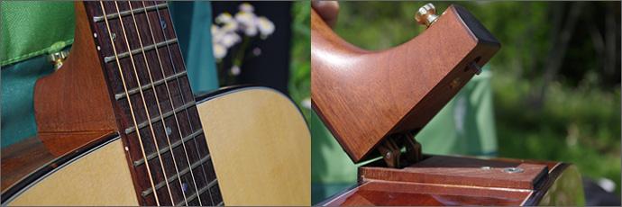 Voyage-air Guitar 接合部分の写真