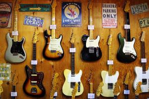 Fenderの壁